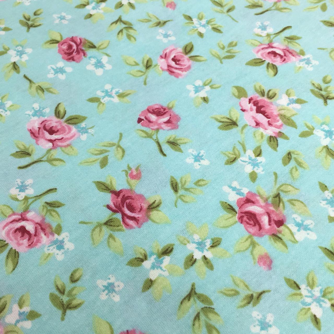 Folha de Eva Com Tecido Floral Tiffany Premium