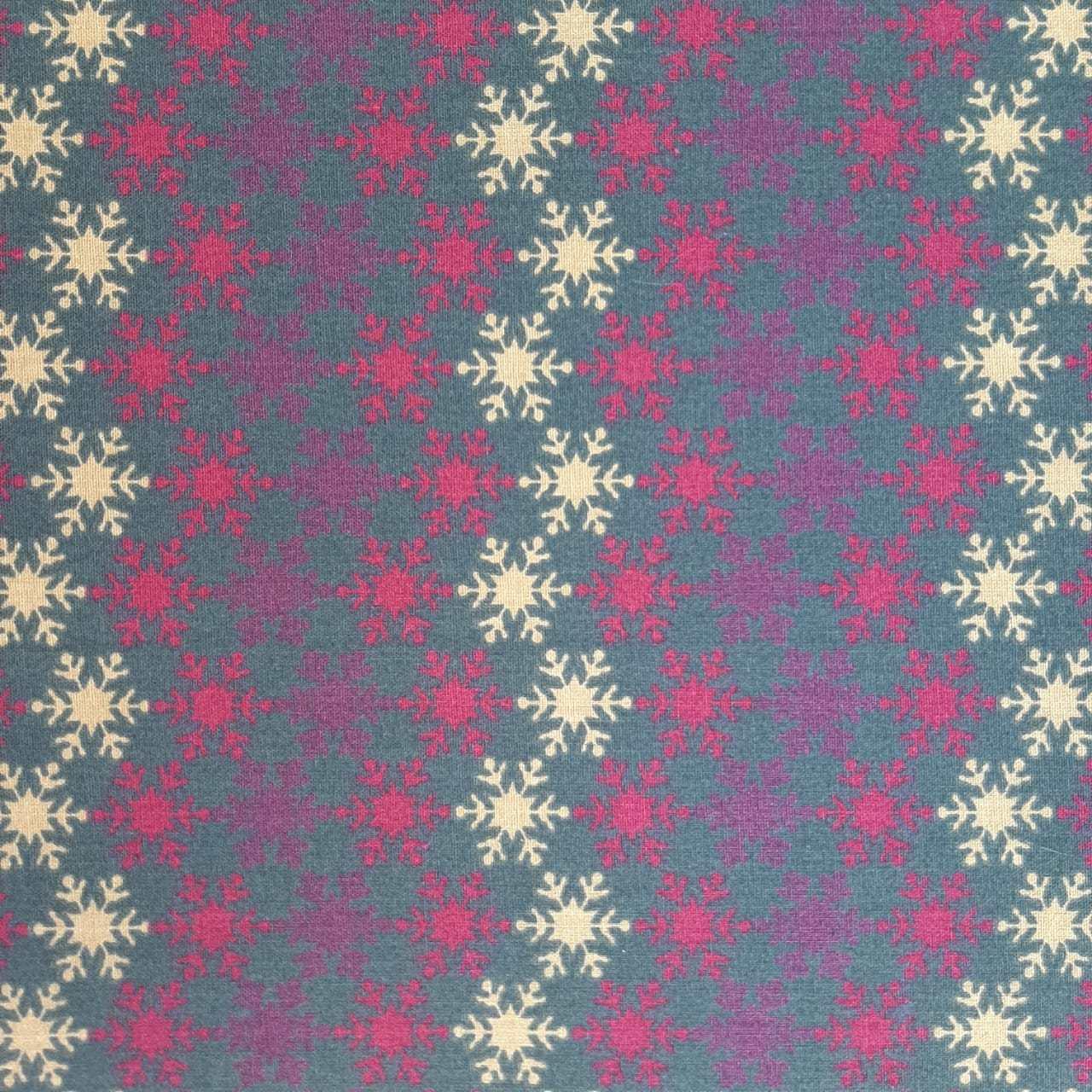 Folha de Eva Com Tecido Natalino 40x30 cm