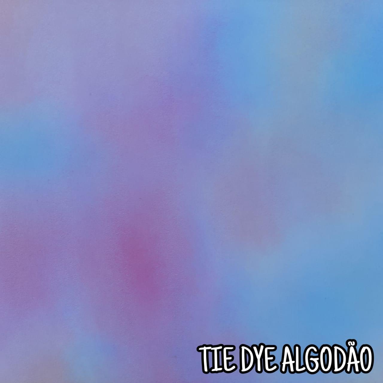 Folha de Eva Com Tecido Tie Dye 40x30 cm