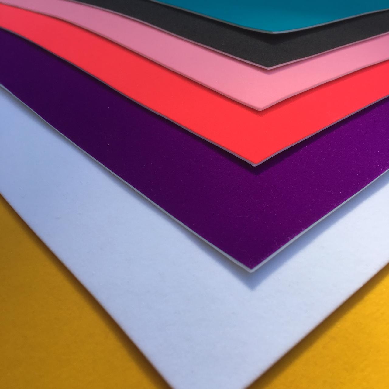 Folha de Eva Com Tecido Veludo Premium 40x30 cm