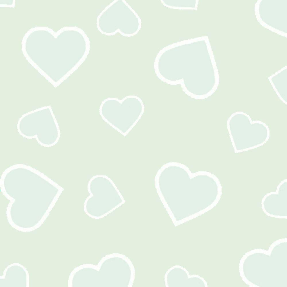 Folha de Eva Estampado Corações