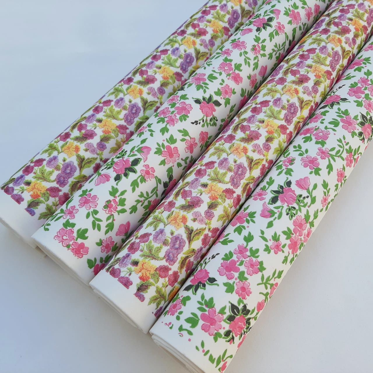 Folha de Eva Estampado Floral Premium