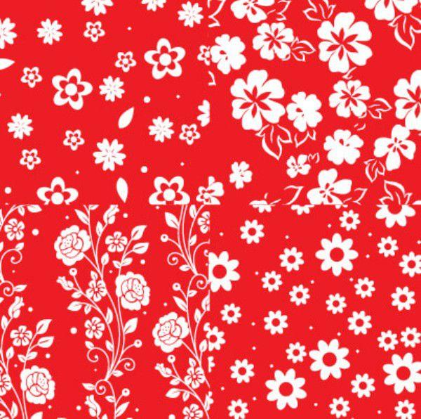 Folha de Eva Estampado Florzinhas 4x1