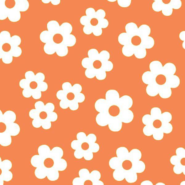 Folha de Eva Estampado Florzinhas