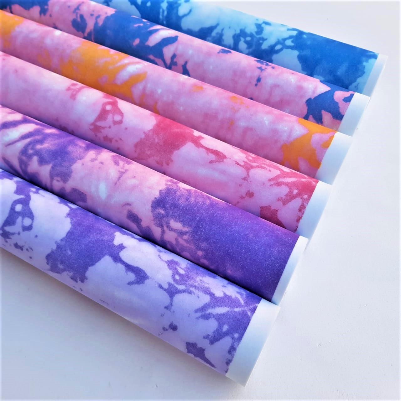 Folha de Eva Estampado Tie Dye