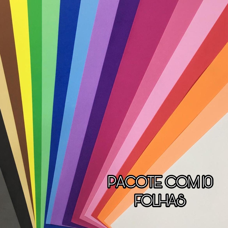 Folha de Eva Liso 40x60 Cm 1,5 mm Pacote com 10 Folhas