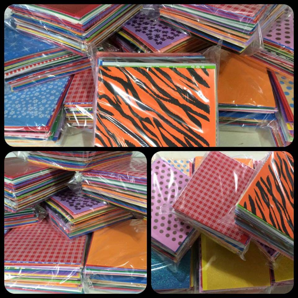 Kit de Retalhos de EVA 20 x 20 cm