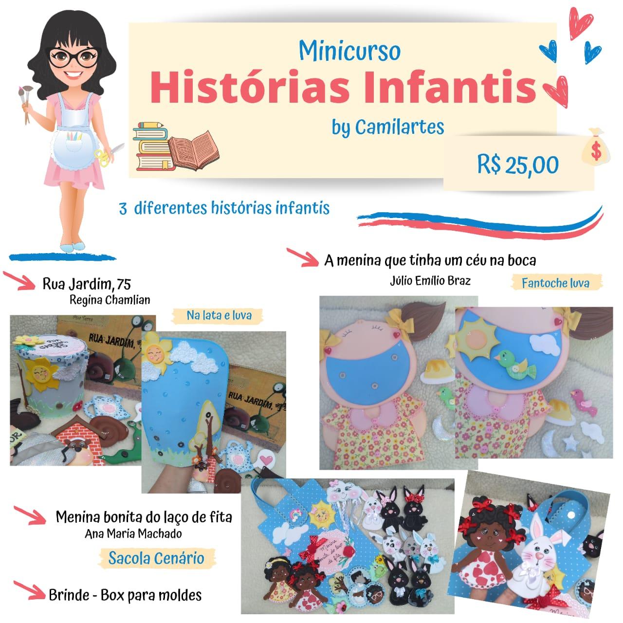 Mini Curso Histórias Infantis Camilarts