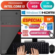 Computador Completo Pc Cpu Monitor 19