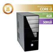 Computador Intel Core I3 3.1GHZ 4GB HD 500GB HDMI Linux