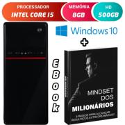 Computador Pc Cpu Intel Core i5 Com Hdmi 8GB HD 500GB Windows 10 Wifi Desktop