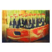Kit 3 Quadros Decorativos Cervejas Brahma Chopp Coca-cola 42x28cm Cada