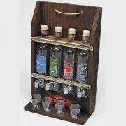 Quadro Decoração - Porta Cachaça Pingometro Área Churrasco Adega Bar Sala 48x30 4l Frases Engraçadas