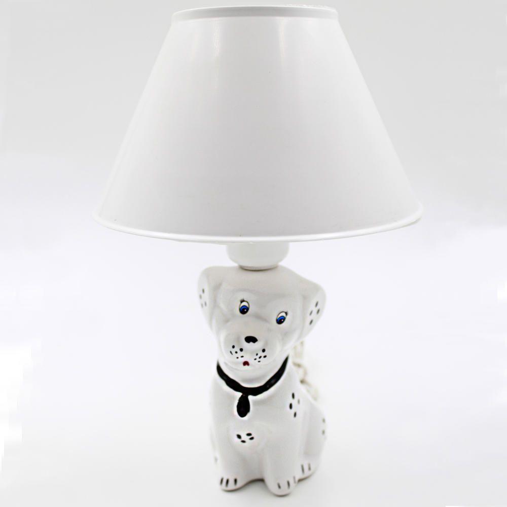 Abajur Luminária Infantil Quarto Criança Bebê Cachorro
