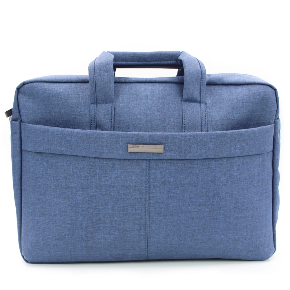 """Bolsa Mala Para Notebook 17"""" Nylon de Alta Qualidade Azul"""