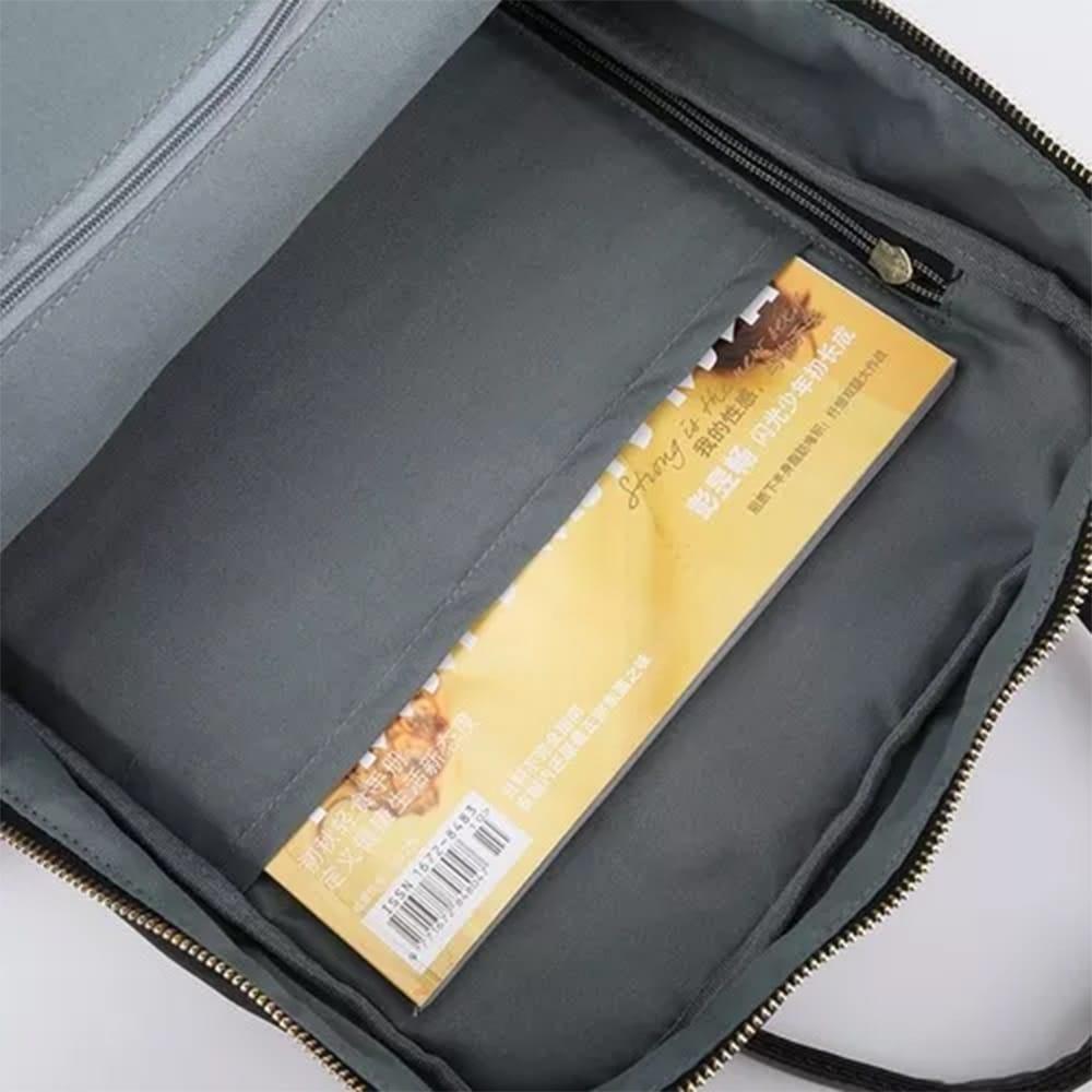 """Bolsa Mala Para Notebook 17"""" Nylon de Alta Qualidade Cinza"""