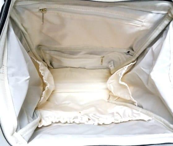 Bolsa Mochila Himawari Maternidade Com Bolsos Térmicos Feminina Casual Mulheres Moda Tecido Impermeável Vermelha/Preta com Bolinhas Brancas