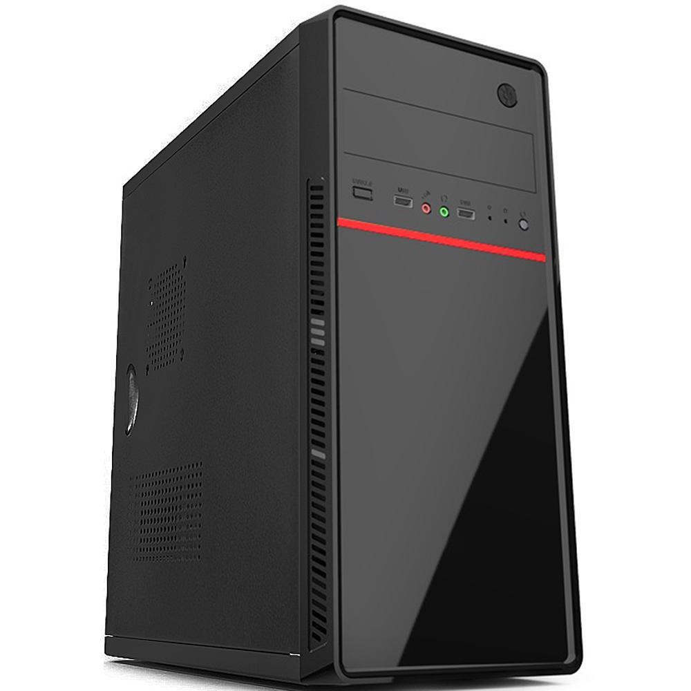 Computador Completo Pc Cpu Monitor 19,5 Intel Core i3 Hdmi 8GB SSD 120GB Windows 10 com Teclado e Mouse Desktop