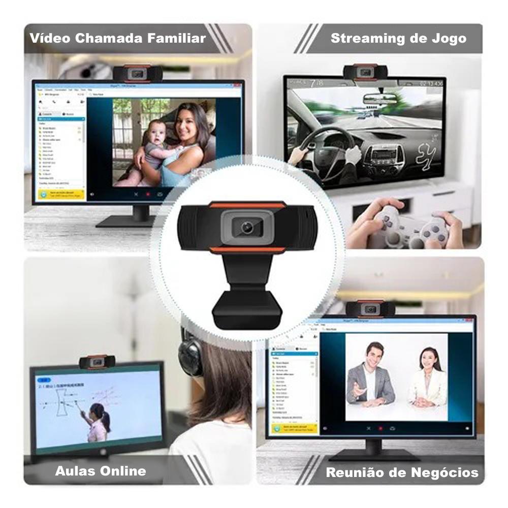 """Computador Completo Pc Cpu Monitor 19"""" Intel Core i3 Hdmi 8GB HD 2TB Windows 10 Webcam Teclado e Mouse Desktop"""