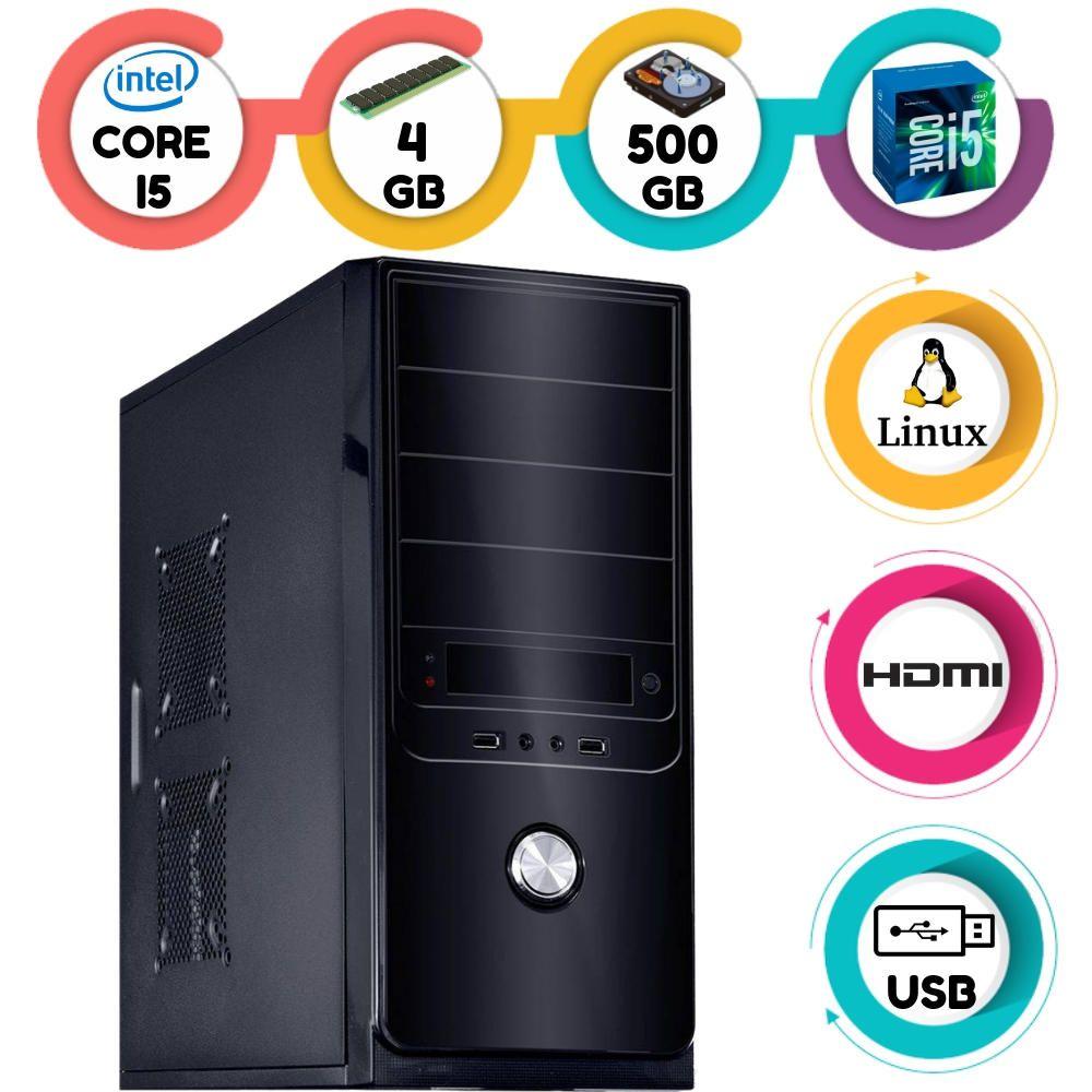 Computador Intel Core I5 3.2Ghz 4GB HD 500GB Linux