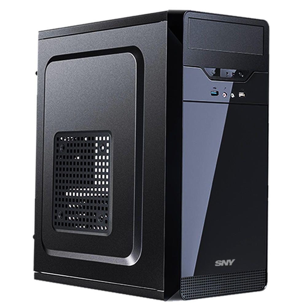 """Computador Intel Core i5 4GB HD 320GB 17"""" Teclado Mouse Hdmi"""