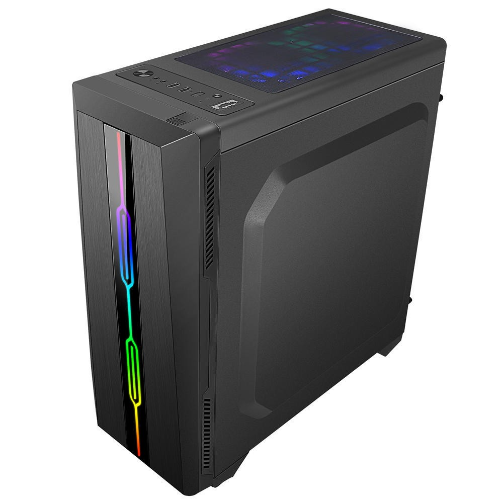 Computador Pc Gamer Intel Core i3 (AMD Radeon RX 550 4GB) 8GB HD 2TB SSD 120GB Windows 10 Desktop Cpu
