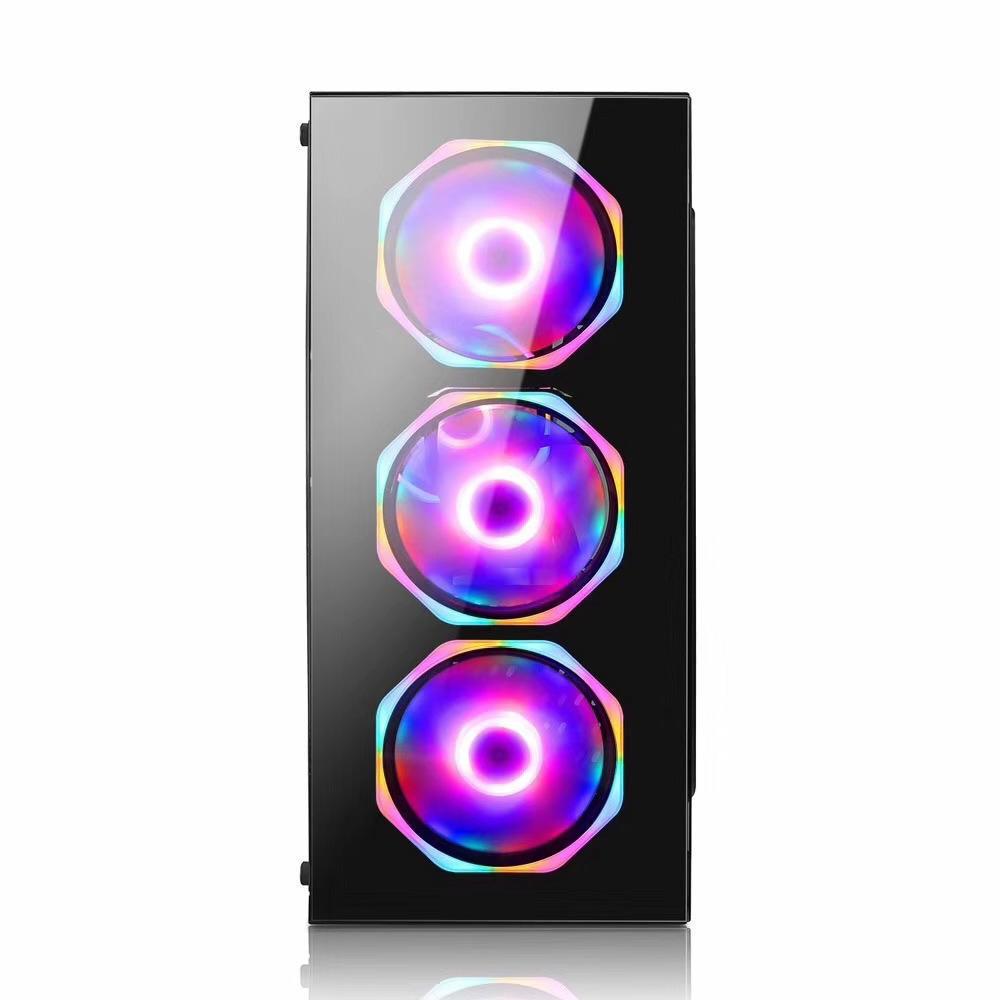 Computador Pc Gamer Intel Core i5 (AMD Radeon RX 550 4GB) 8GB HD 2TB SSD 120GB Windows 10 Desktop Cpu