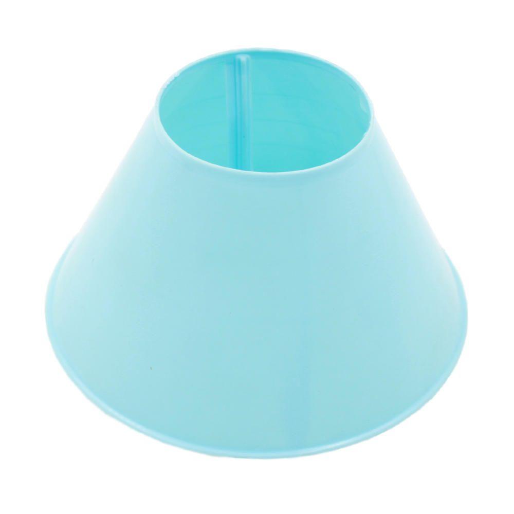 Cupula para Abajur Luminária Pequena Azul