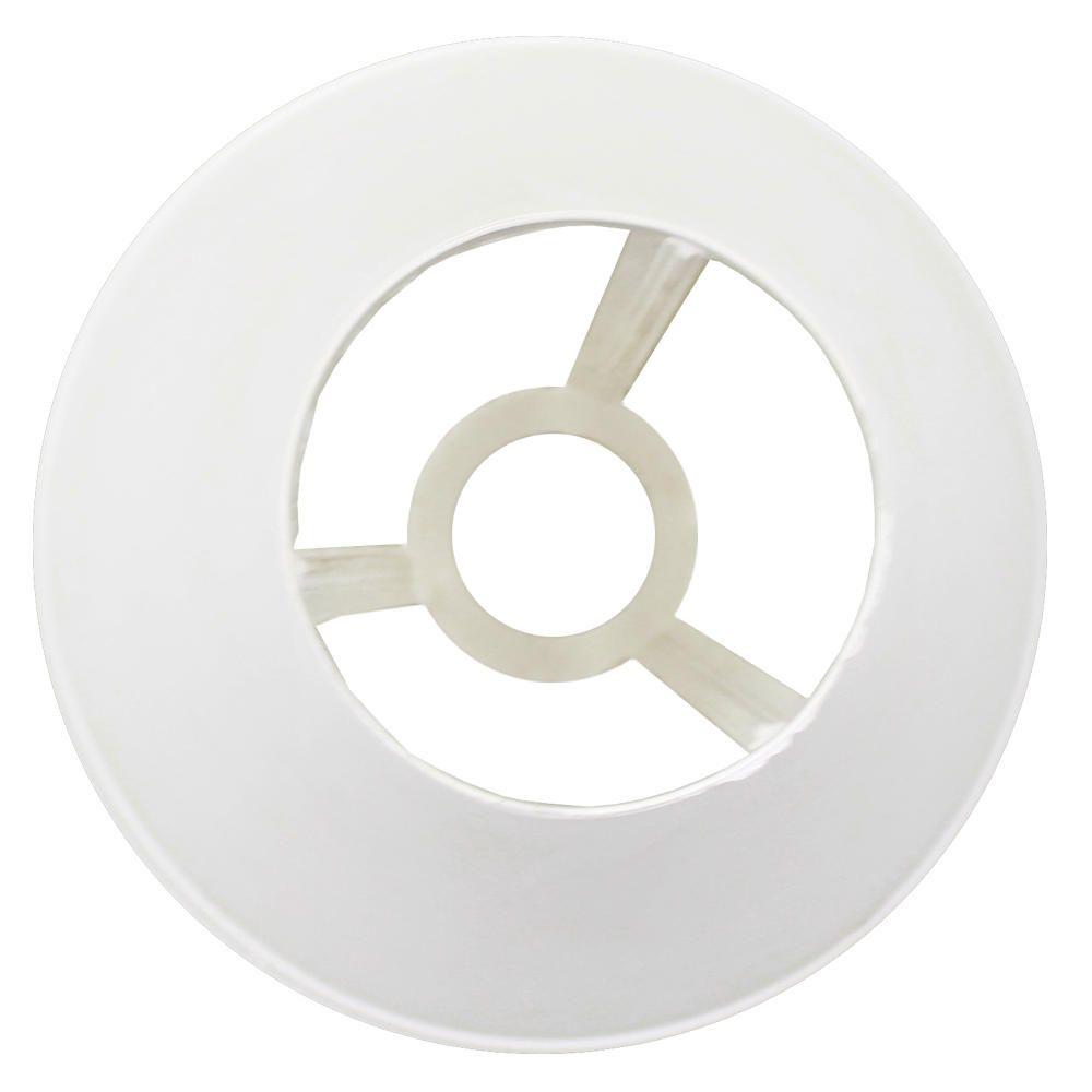 Cupula Plástica para Abajur Luminária Grande Branco