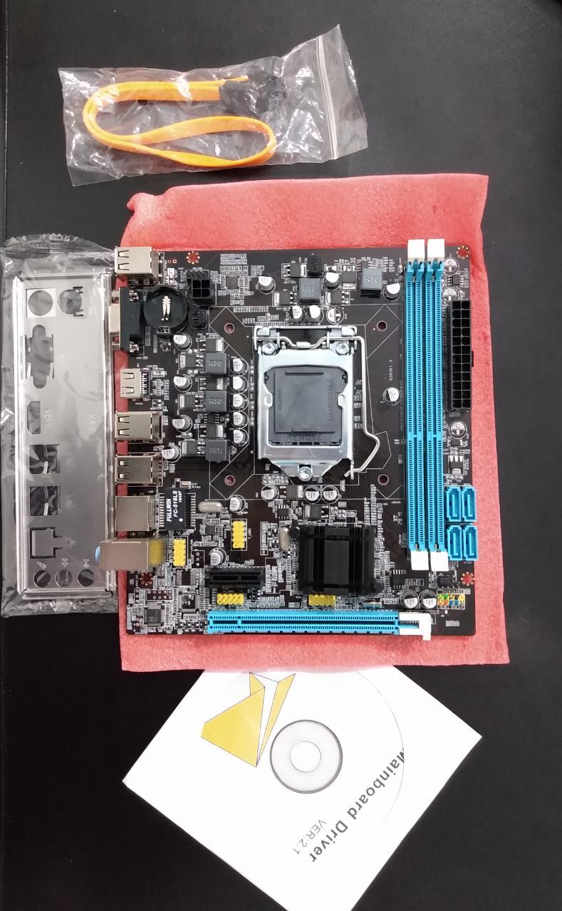 Placa Mãe Lga 1155 Foxconn H61 Para I3 I5 I7 Até 16gb