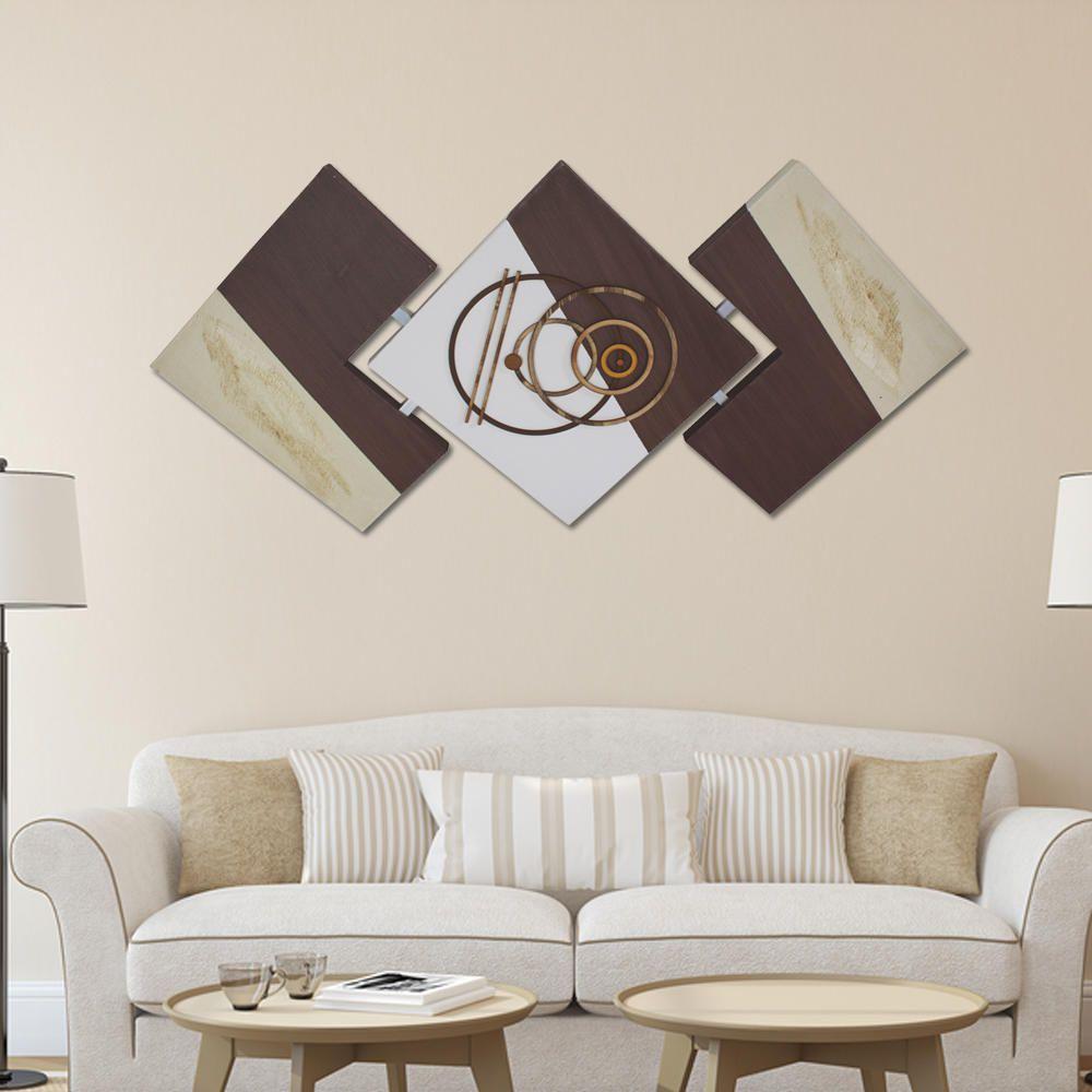 Quadro Abstrato Decorativo Sala Quarto Corredor Chique