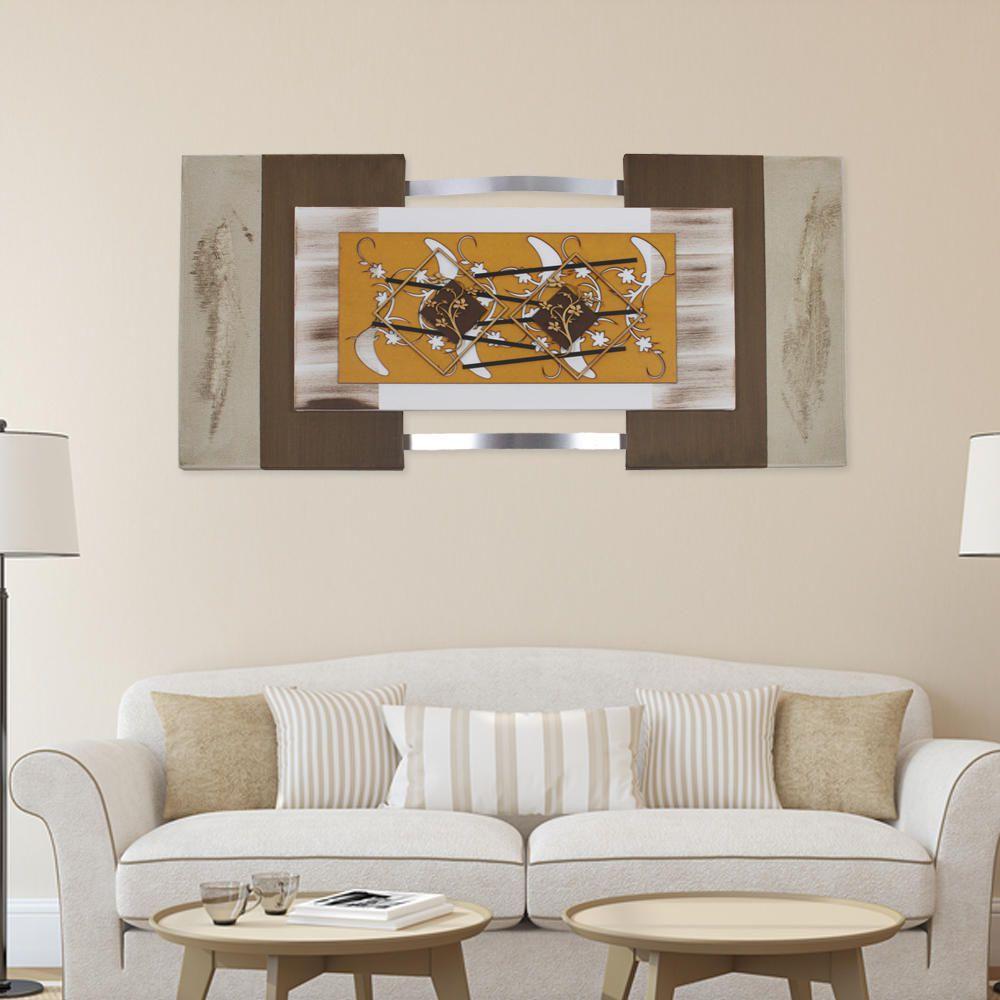 Quadro Abstrato Decorativo Sala Quarto Corredor Escritório