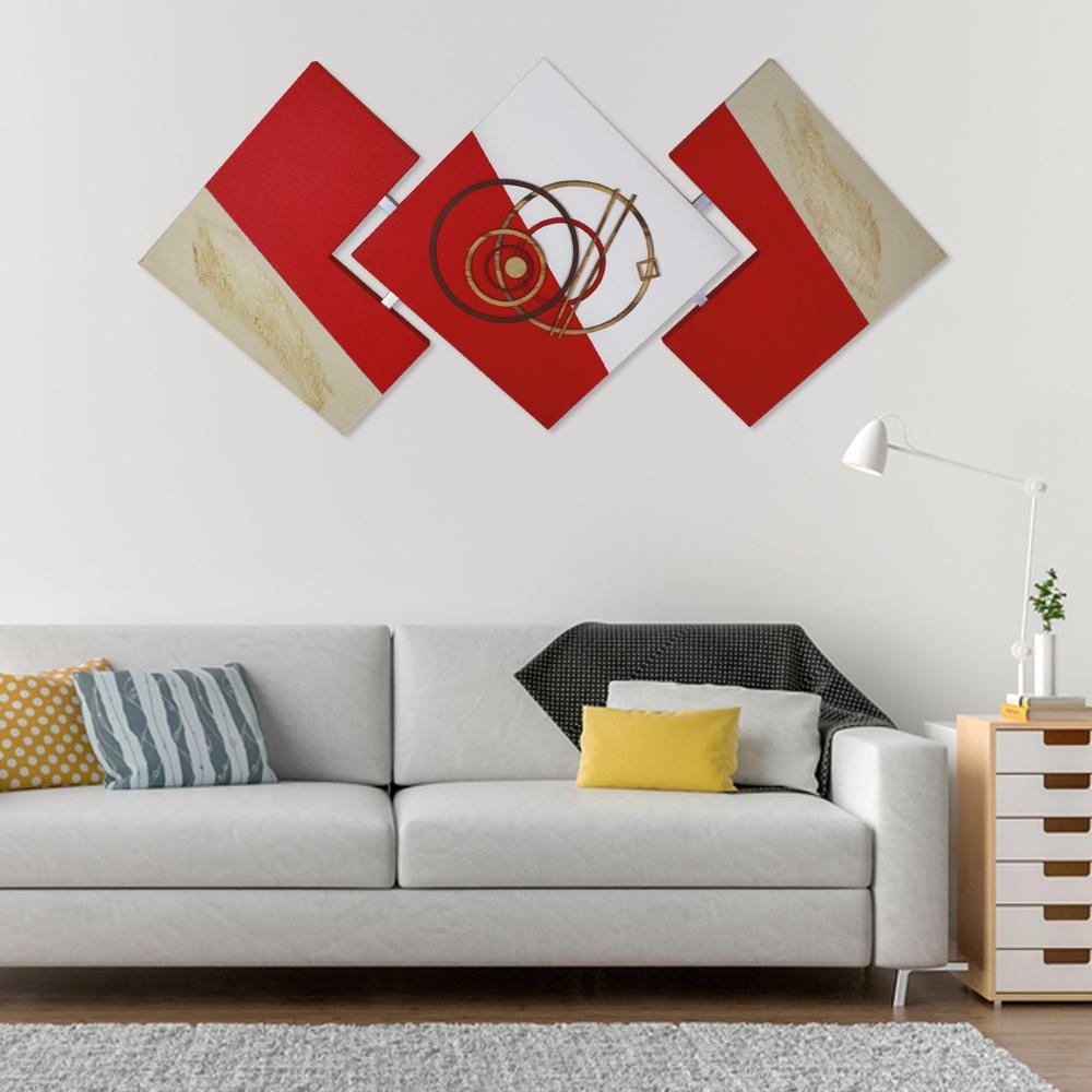 Quadro Abstrato Grande Lindo Decorativo Sala Chegada