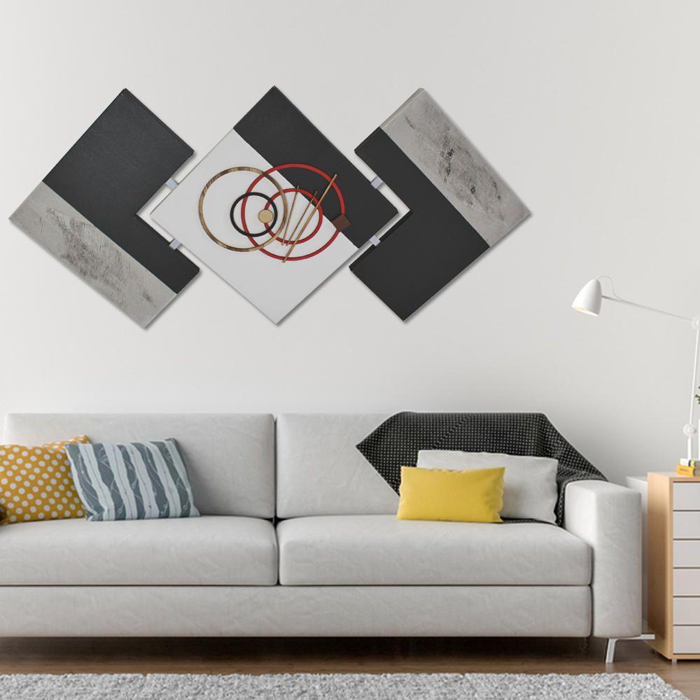 Quadro Decorativo Abstrato Sala, Sala De Jantar