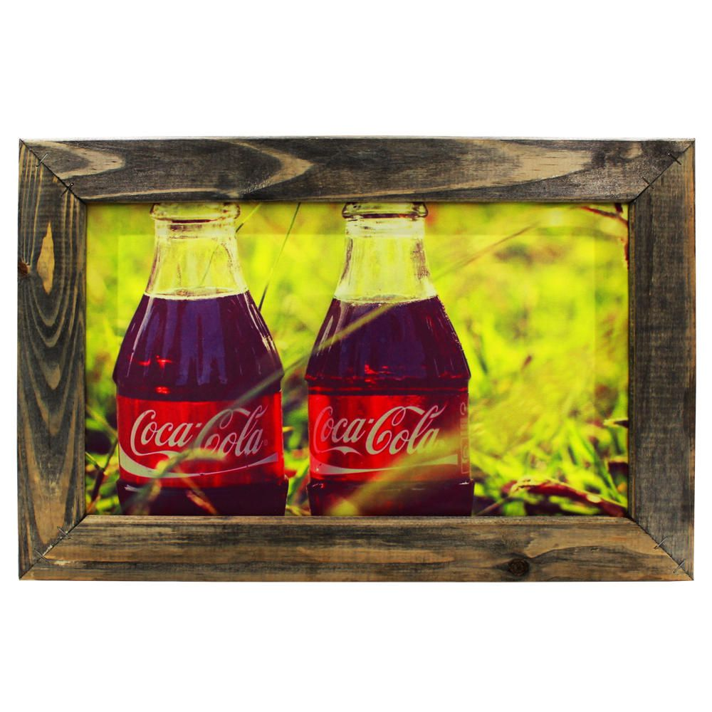 Quadro Decorativo Coca-Cola Sala Quarto Moldura 32x48cm