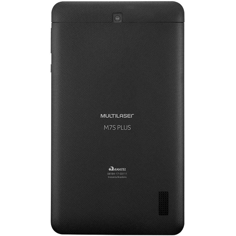 "Tablet M7S Plus Câmera Wifi 1GB RAM Tela 7"" 8GB"