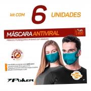 6 Máscaras Antivirais