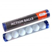 Bolas Para Tênis de Mesa Action Balls 40mm Pote C/ 6 Pçs 09020