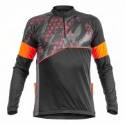 Camisa Ciclista C/ Zíper M/L Challenge 04182