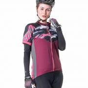 Camisa Ciclista Feminina com Ziper Total Way 04186