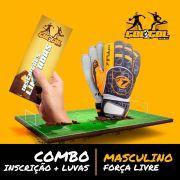 Combo (Inscrição + Luvas) Gol a Gol –  Masculino Força Livre - Porto Alegre RS – 06/10/19