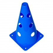 Cone de Marcação C/ 12 Furos p/ Treinamento - 23cm Altura 13cm Diâmetro 09098