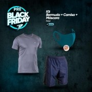 Kit Bermuda + Camisa + Máscara