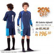 Kit Goleiro Infantil