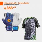 Kit Luva Versatile + Camisa Goleiro