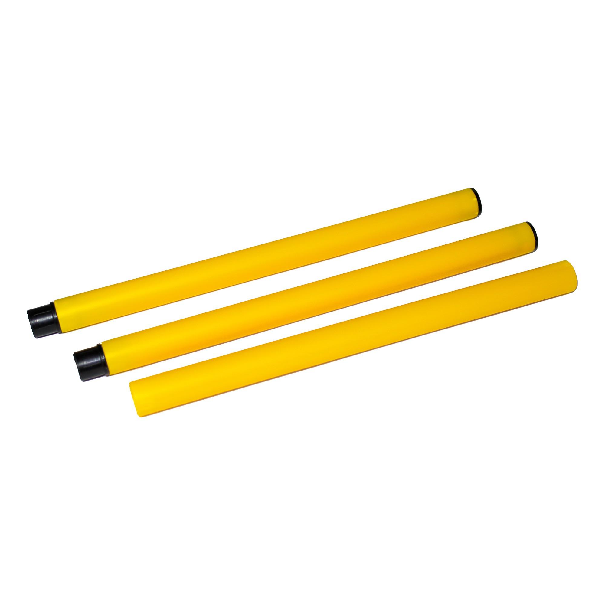 Bastão de treinamento em PVC com 91cm comprimento e 2cm de diâmetro 09097
