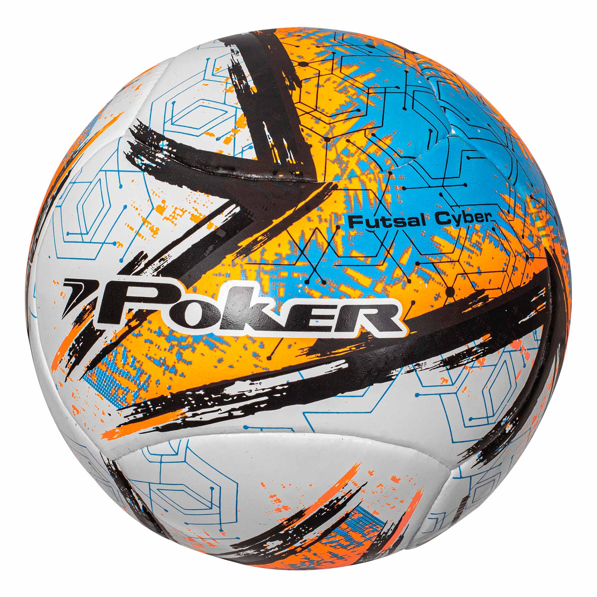 Bola de Futsal Fusionada 6 Gomos Cyber 05807