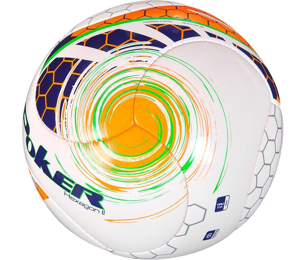 """Bola Fut Campo C/C Mão Hexagon II Prime """"TPU+EVA"""" 6 Gomos 05731"""