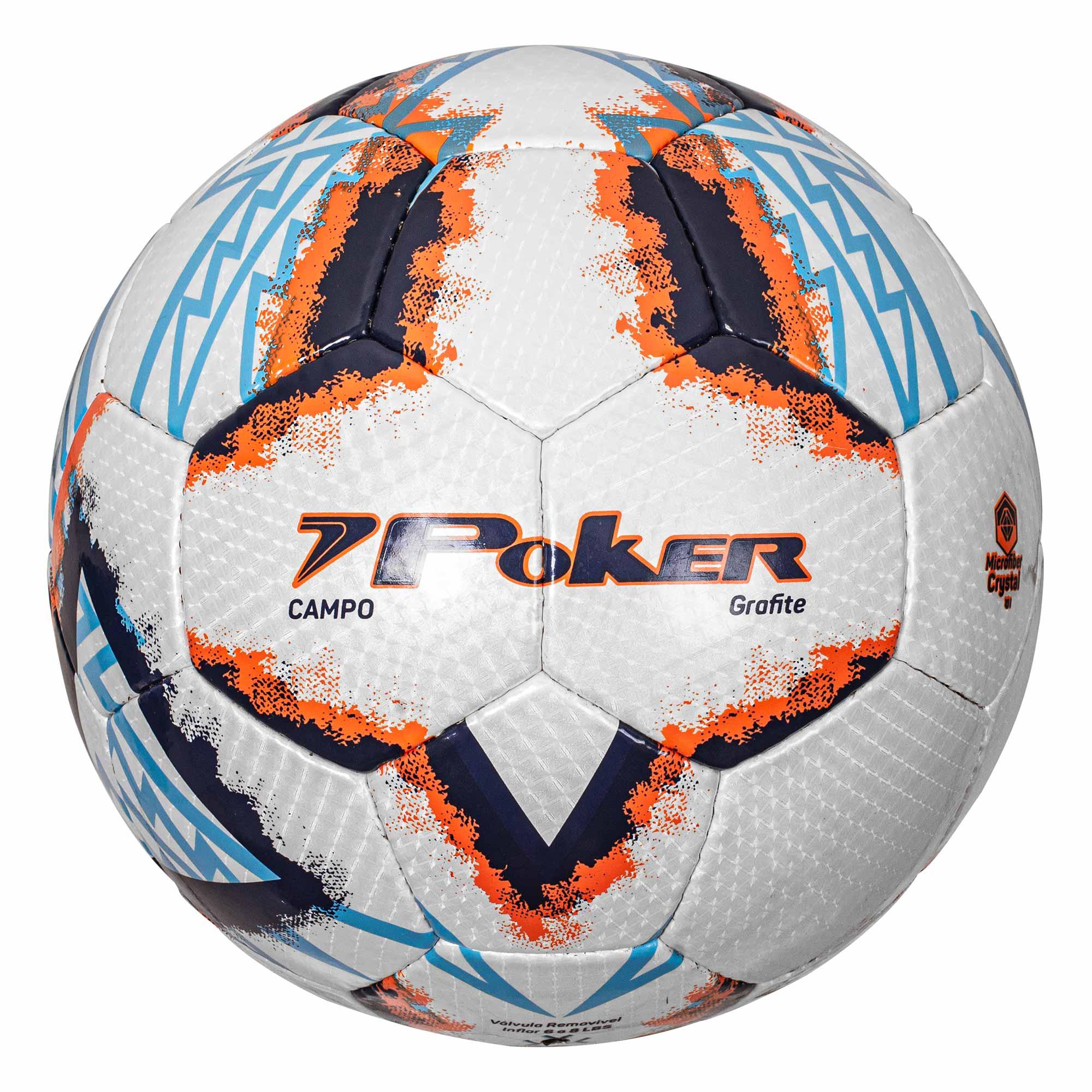 Bola Futebol de Campo Crystal Microfiber 32 Gomos Grafite 05808