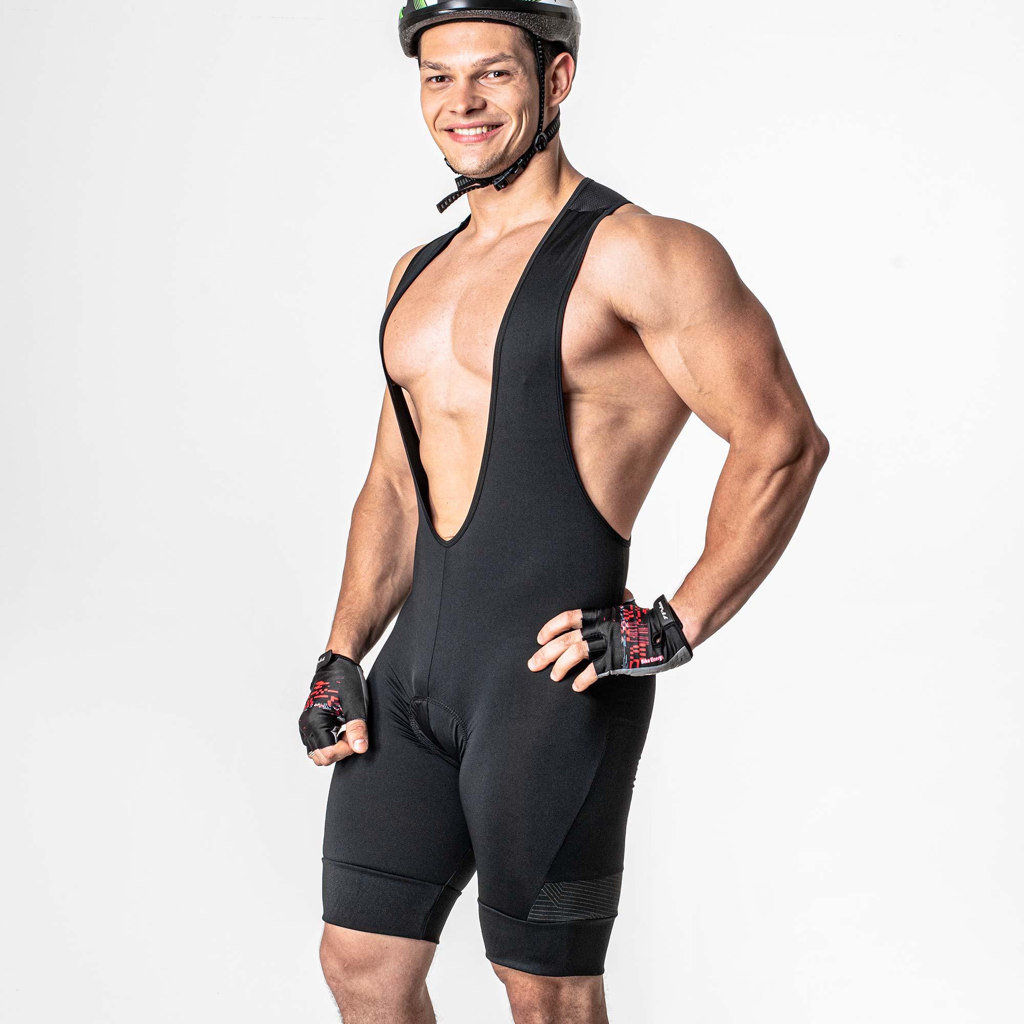 Bretelle Ciclista Roar Com Forro Em Gel 03824